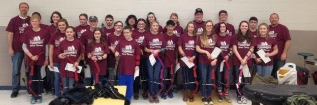 2016 Archery Team Photo