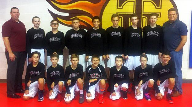 Boy's Middle School Basketball Team 2016