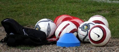 Soccer Balls Sideline