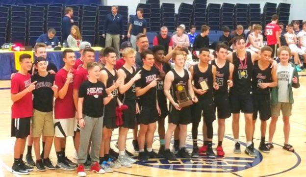 2018 MTAC Champions - TN Heat High School Basketball Team