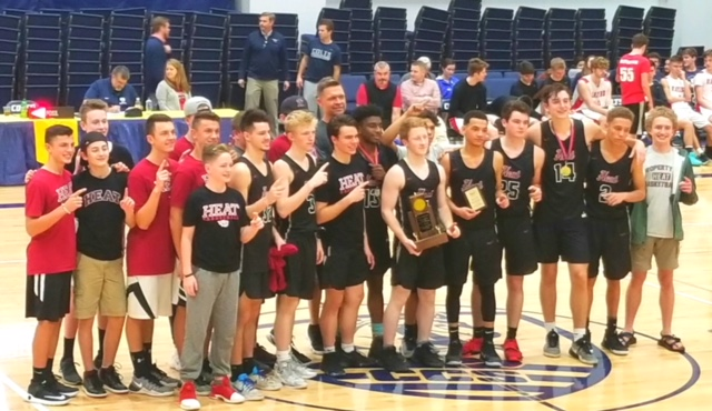 2018 MTAC Champions - TN Heat High School Basketball Team
