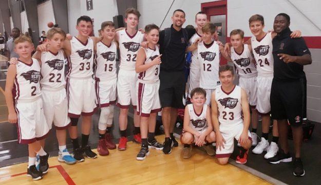 2017 TN HEAT Middle School Boys Basketball Team