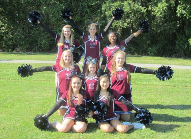 TN Heat Cheerleaders